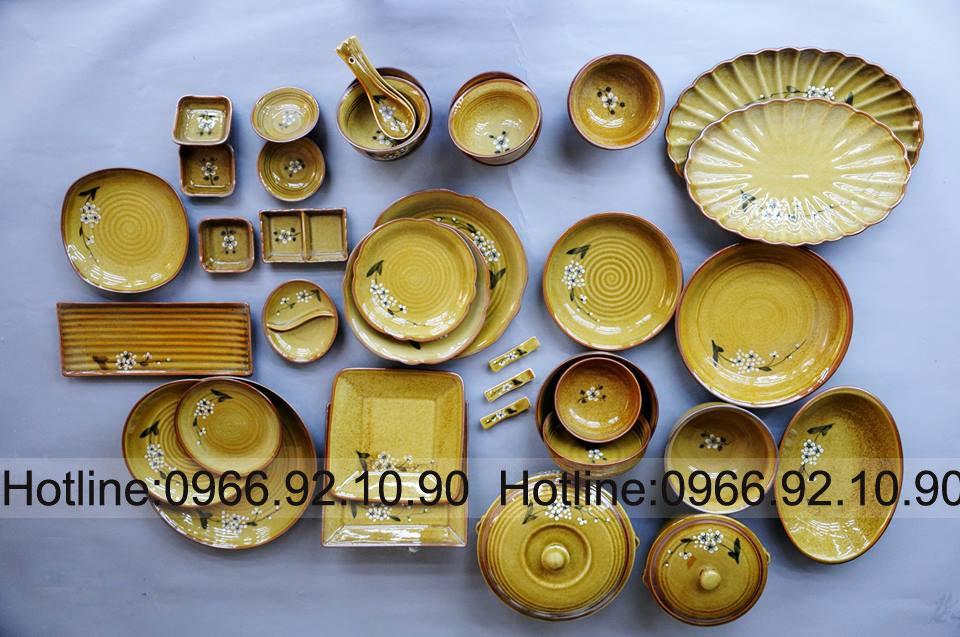 Sản phẩm cần bán: Bộ đồ ăn cao cao cấp-Gốm Sứ Bát Tràng Hiennga8